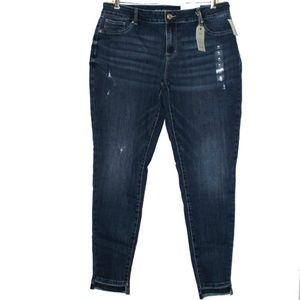 Maurice Mid Rise Skinny Jegging Size XL Long